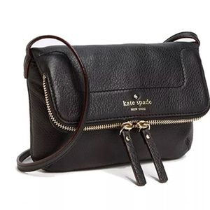 Black Kate Spade Mariana Mansfield Crossbody Bag
